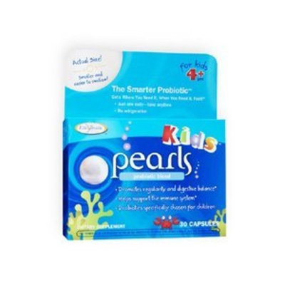Enzymatic Therapy Pearls Kid's Probiotic Blend Caps, 30 ct