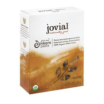 Jovial Organic Whole Grain Einkorn Rigatoni (12 x 12 Oz) ( Value Bulk Multi-pack)