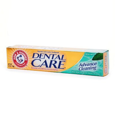 Arm & Hammer Dental Care Advance Cleaning Daily Fluoride Toothpaste with Baking Soda