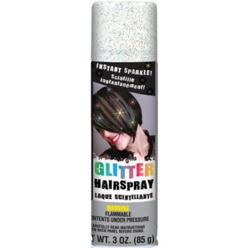 AMSCAN 155925 Glitter Hair Spray 3 Ounces-Multicolor