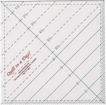 Quilt In A Day Inc. Quilt In A Day Triangle Square Up Ruler
