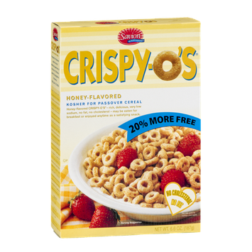 Savion Crispy-O's Honey-Flavored Cereal