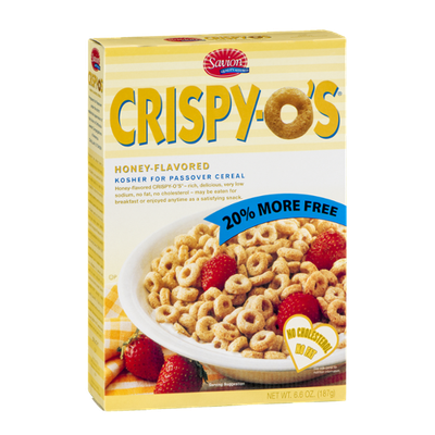 Savion Crispy-O's Honey-Flavored Cereal