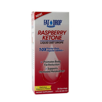 Healthy Natural Systems Fat Drop Raspberry Ketone Liquid Diet Drops Raspberry