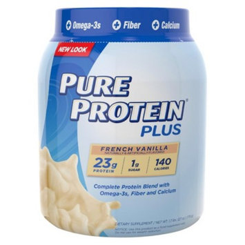 Pure Protein Plus French Vanilla Dietary Supplement Powder - 27 oz