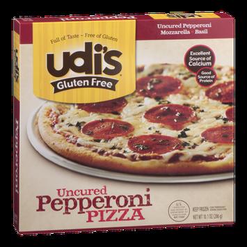 Udi's Gluten Free Uncured Pizza Pepperoni