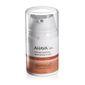 AHAVA Dermud Intense Soothing Nourishing Cream for Dry Skin, 1.7 fl. oz.