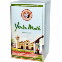Wisdom Of the Ancients Wisdom Natural Yerba Mate Herbal Tea Unsweetened 25 Tea Bags