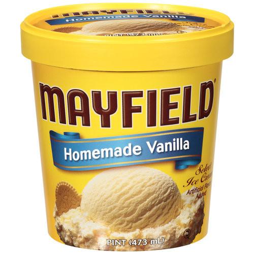 Mayfield Homemade Vanilla Ice Cream, 1 pt
