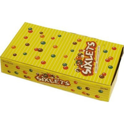 Hershey's Sixlets 48 packs of candy coated chocolate candy