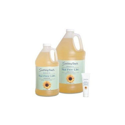 Soothing Touch Nut Free Lite Massage Oil, Gallon (128oz)