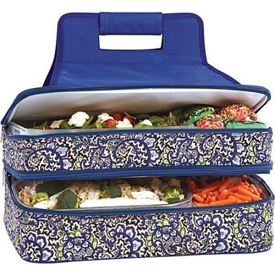 Picnic Plus Entertainer Hot & Cold Food Carrier - English Paisley