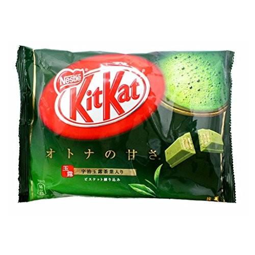 Kit Kat Matcha Green Tea Flavor