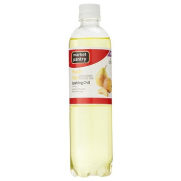 market pantry Market Pantry Peach Pear Sparkling Chill Water Beverage 17 oz