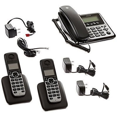 Motorola Corded/Cordless 2 Handset Answering Syst