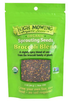 High Mowing Organic Seeds SPROUT SEEDS, OG2, BROC BLN, (Pack of 12)
