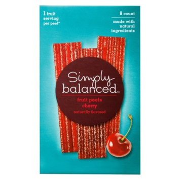 Simply Balanced Cherry Fruit Peels 8 ct