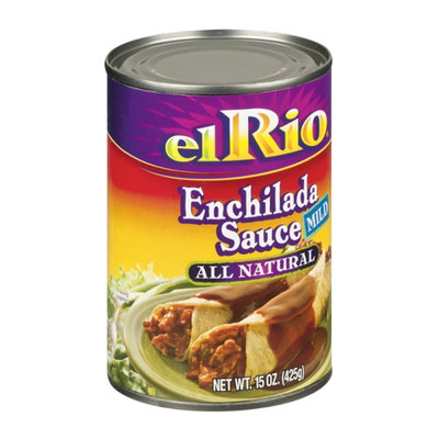 El Rio Mild All Natural Enchilada Sauce