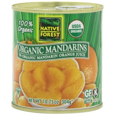 Native Forest Organic Mandarin Oranges, 10.75-Ounce Cans (Pack of 12)