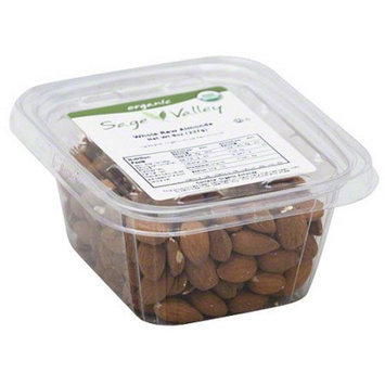 Generic Sage Valley Whole Raw Almonds, 8 oz (Pack of 6)