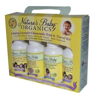 Nature's Baby NBO TRAVEL PACK - Lavender