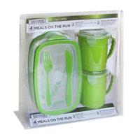 Shye U.s.a. Meals on the Run Food Storage, 4-Piece Set