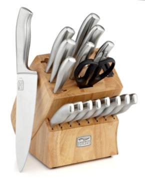 Chicago Cutlery Insignia Steel 18pc Cutlery Block Set