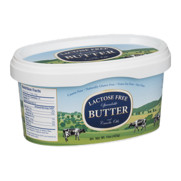 Butterfields Lactose Free Spreadable Butter and Canola Oils