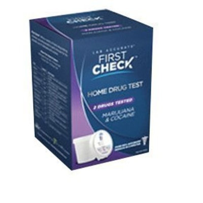 First Check Home Drug Testing Kit - Cocaine and Marijuana