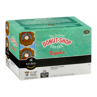 Green Mountain The Original Donut Shop Coffee Regular K-Cup Packs Medium Roast Extra Bold - 12 CT