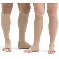 Mediven Plus, Knee-High With Top Band, Petite, 20-30mmHg, Open Toe, Compression Stocking, Beige, I