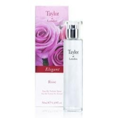 Elegant Rose by Taylor of London Eau De Toilette Spray 1.69 oz