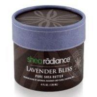 Shea Radiance Lavender Bliss Pure Shea Butter 4 oz
