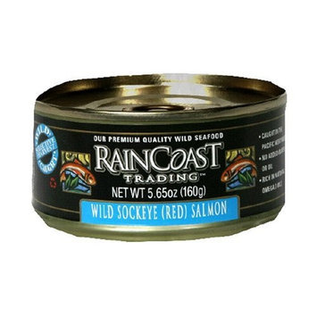Rain Coast Raincoast Trading Company Sockeye Salmon, 5.65-Ounce Can (Pack of 3)
