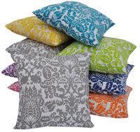Trendsetter Homes Set of 2 Ultra Luxurious 100% Cotton velvet Bath Towel 1 Royal Blue & 1 Yello.