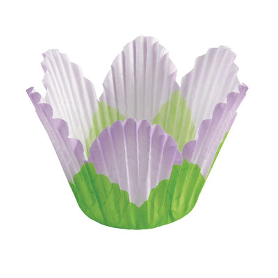 Wilton Lavender Petal Baking Cups, 24 Count