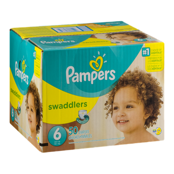 Pampers Swaddlers Diapers Size 6 - 50 CT