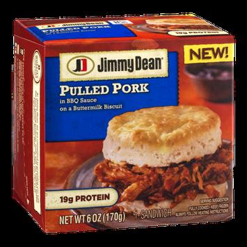 Jimmy Dean Pulled Pork In BBQ Sauce Sandwich