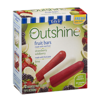 Edy's Outshine Fruit Bars Strawberry, Wildberry and Lime - 12 CT