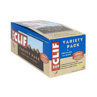 Clif Bar Energy Bar, Crunchy Peanut Butter, Chocolate Chip Peanut Crunch, and Oatmeal Raisin Walnut Variety Pack