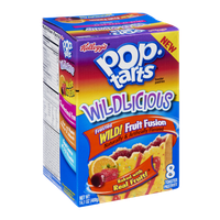 Kellogg's Pop-Tarts Wildlicious Frosted Wild Fruit Fusion Toaster Pastries