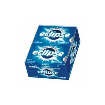 Wrigley's Eclipse Breeze Gum Exotic Berry Sugarfree, 12 piece Boxes (Pack of 12)