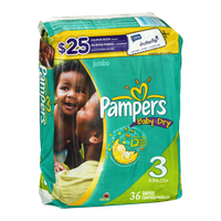 Pampers Baby Dry Diapers Sesame Street Size 3 - 36 CT