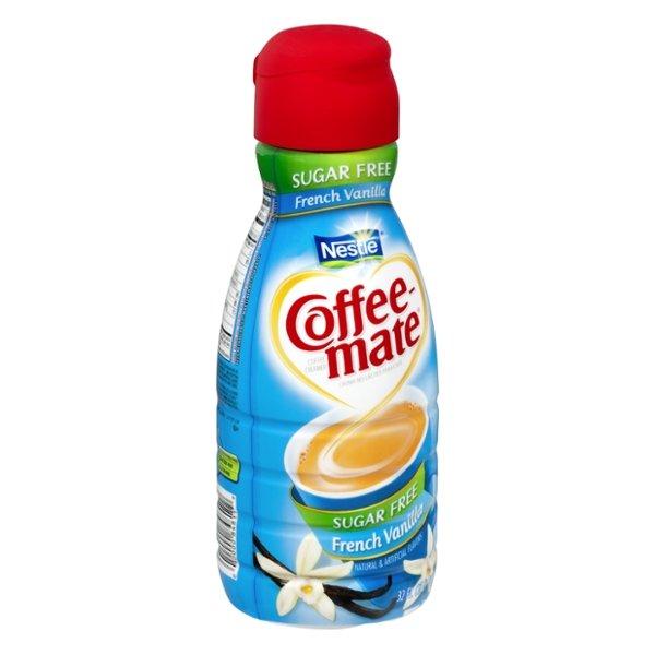 Nestle Coffee-Mate Sugar Free French Vanilla Flavor Coffee Creamer
