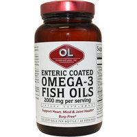 Olympian Labs Omega 3 Fish Oils Enteric Coated Softgels