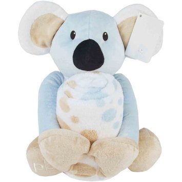 Piccolo Bambino Baby's First Blanket and Toy, Blue Koala