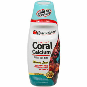 Drinkables Liquid Coral Calcium Dietary Supplement 15 fl oz