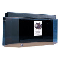 Advance Aqua Tanks Clear For Life Octagon Aquarium Black, Size: 20-Gal (30W x 13D x 16H in.)