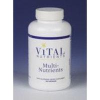 Vital Nutrients Multi-Nutrients no Iron or Iodine Vegetarian Capsules