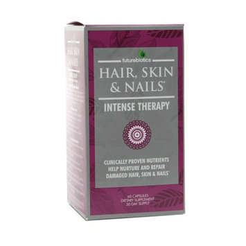Futurebiotics Hair, Skin, & Nails Intense Therapy Capsules, 60 ea